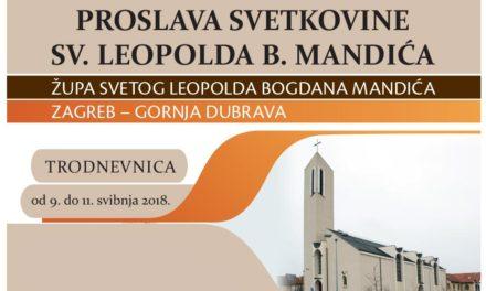 Proslava svetkovine sv. Leopolda B. Mandića