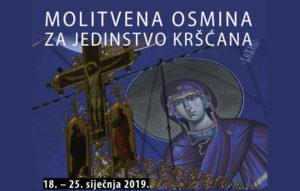 Molitvena osmina za jedinstvo kršćana 2019.