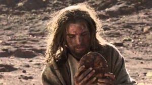 Isus upustinji