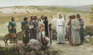 Isus s učenicima