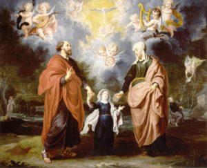 sv. Joakim i Ana, roditelji Bl. Djevice Marije