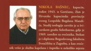 fra Nikola Bašnec - zlatna misa