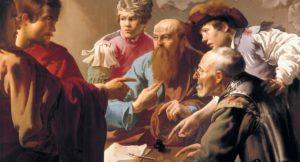Isus poziva Mateja carinika