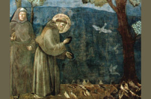 Sv. Franjo Asiški propovijeda pticama