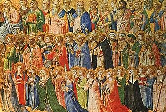 31. nedjelja kroz godinu – Svetkovina Svih Svetih
